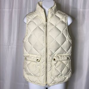 J. Crew quilted vest size - XS